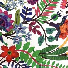 Ovaal tafelzeil Flora bloemen