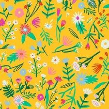 Ovaal tafelzeil Kitsch Kitchen flower field