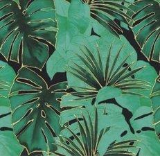 SALE tafelzeil palmbladeren paradise 100x140cm