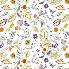 30x140cm Restje tafelzeil wilde bloemen