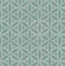 40x140cm Restje tafelzeil orbit groen