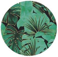 Rond tafelzeil palmbladeren paradise (140cm)