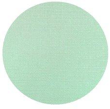 Rond tafelzeil linnen look mint groen 140cm