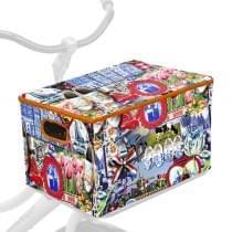 Fietskrathoes XL Allover Holland souvenir