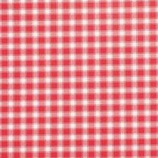 Groot rond tafelzeil ruitjes rood (160cm)