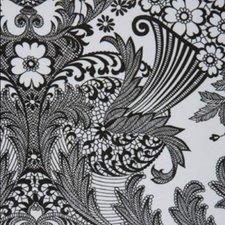 SALE Mexicaans tafelzeil paraiso zwart op wit 110x120cm