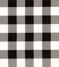 SALE Mexicaans tafelzeil grote ruit zwart 100x120cm