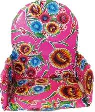 Kitsch Kitchen stoelverkleiner floral fuchsia