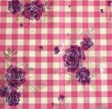 Rond tafelzeil Mia roze (140cm)