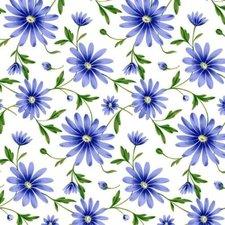Ovaal doorzichtig tafelzeil Margriet donkerblauw