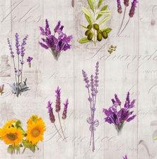 Rond tafelzeil lavendel Provence (140cm)