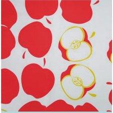 Rond Mexicaans tafelzeil appel manzana rood  (120cm)