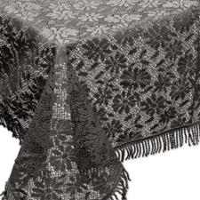 Buiten tafelkleed schuimvinyl 150x220cm antraciet grijs (dikke kwaliteit)