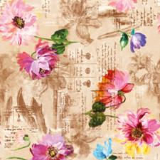 SALE tafelzeil fleur de France 100x140cm