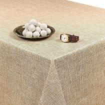 SALE tafelzeil linnux beige 125x140cm