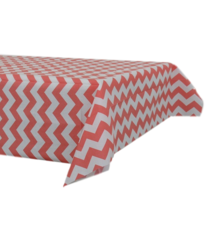 Papieren tafelkleed 120x180cm rood