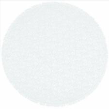 Rond buiten tafelkleed 160cm schuimvinyl ijs blauw (dikke kwaliteit)