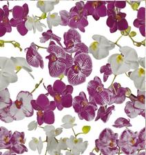 Groot rond tafelzeil orchideeën (160cm)