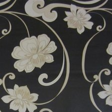Tafelzeil morgana bloemen zwart