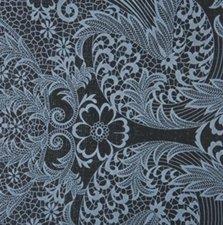 SALE Rond Mexicaans tafelzeil paraiso grijs op zwart 120cm