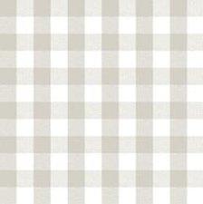 Tafelzeil Lola chiwi blokken linnen grijs