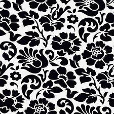 SALE doorzichtig tafelzeil barok zwart 105x140cm
