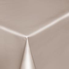 Ovaal tafelzeil beige/grijs effen glans