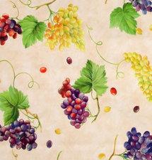SALE tafelzeil druiven 165x140cm