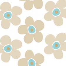 Tafelzeil Lola big flower sea cookie