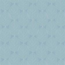 SALE tafelzeil leafs sky blauw 145x140cm