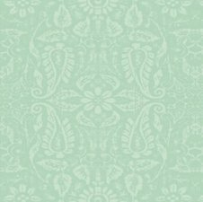 Ovaal tafelzeil ornament mint