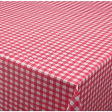70x140cm Restje tafelzeil ruitje rood Paty