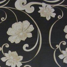 SALE tafelzeil morgana bloemen zwart 135x140cm