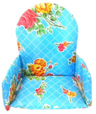 Kitsch Kitchen stoelverkleiner rosendal blauw