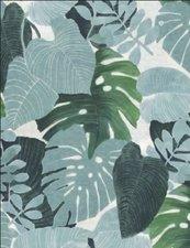 Rond tafelzeil palm bladeren (140cm)