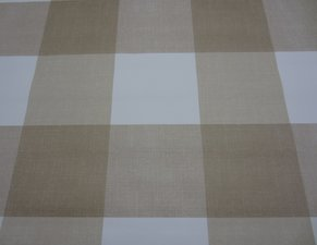 Tafelzeil blokken bruin beige