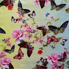 45x140cm Restje tafelzeil butterfly vlinders