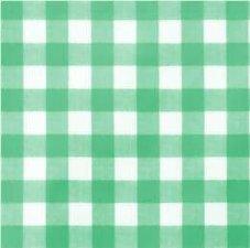 60x140cm Restje tafelzeil grote ruit groen
