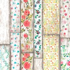 Rond tafelzeil Flowery Woods (140 cm)