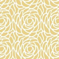 30x140cm Restje tafelzeil Billy bloom geel