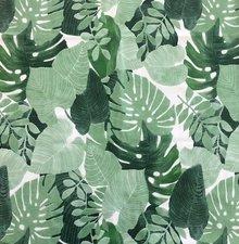 65x140cm Restje tafelzeil palmbladeren