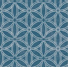 45x140cm Restje tafelzeil orbit blauw