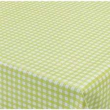 75x140cm Restje tafelzeil ruitje groen Paty