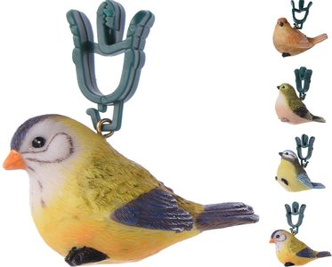Tafelkleedgewichtjes vogels