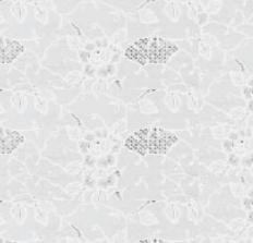 Tafelzeil Rosa kant wit