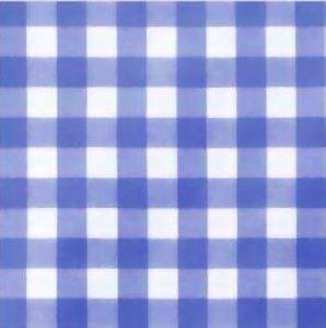 Tafelzeil grote ruit blauw