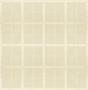 SALE tafellinnen blok creme 150x140cm (wasbaar)