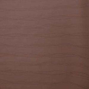 Wasbaar tafelzeil lines kastanje bruin