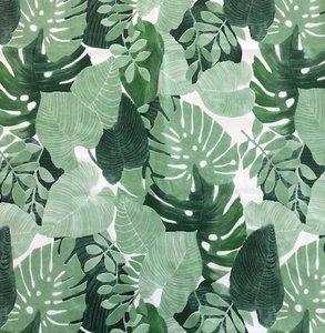 Rol tafelzeil palm bladeren (20 meter)