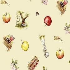 Rond tafelzeil Jet ter Steege appels (140cm)